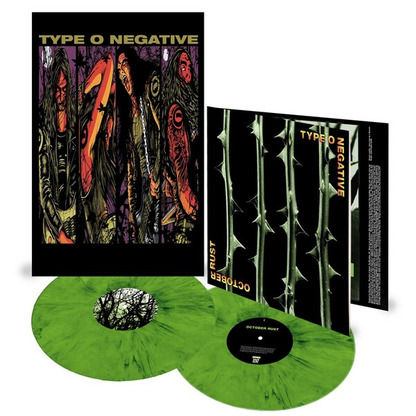 TYPE O NEGATIVE, october rust (25th anniversary) cover