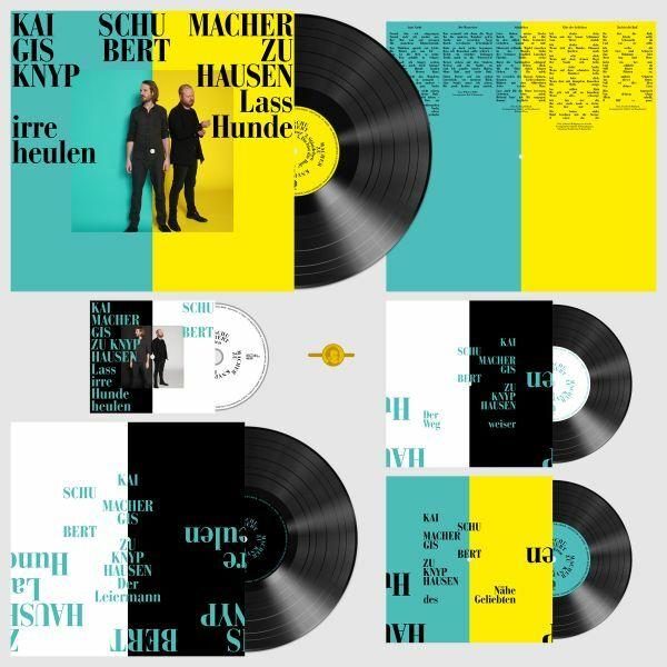 GISBERT ZU KNYPHAUSEN/KAI SCHUMACHER, lass irre hunde heulen (ltd. deluxe box) cover