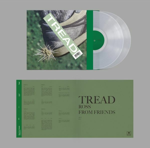 ROSS FROM FRIENDS, tread cover