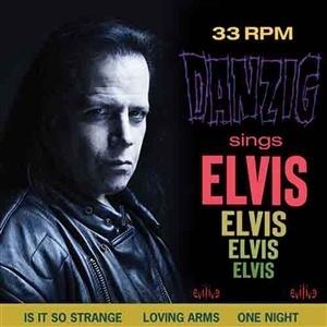 DANZIG, sings elvis (blue vinyl) cover