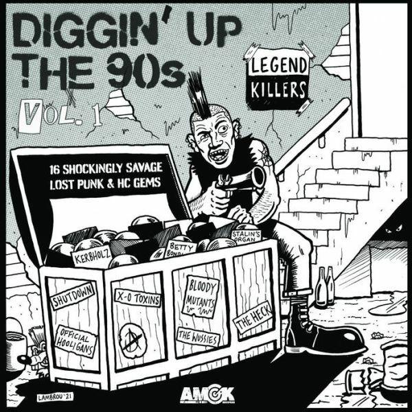 V/A, diggin up the 90s vol. 1 cover