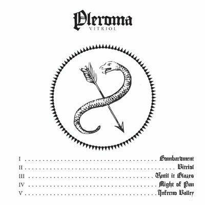PLEROMA, vitriol cover