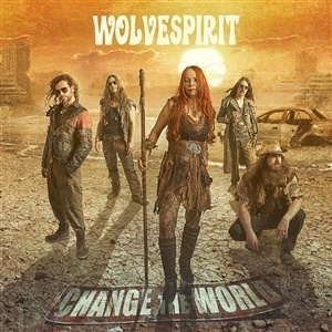 WOLVESPIRIT, change the world cover
