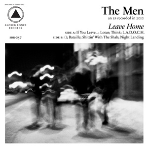 THE MEN, leave home (10th anniversary) cover