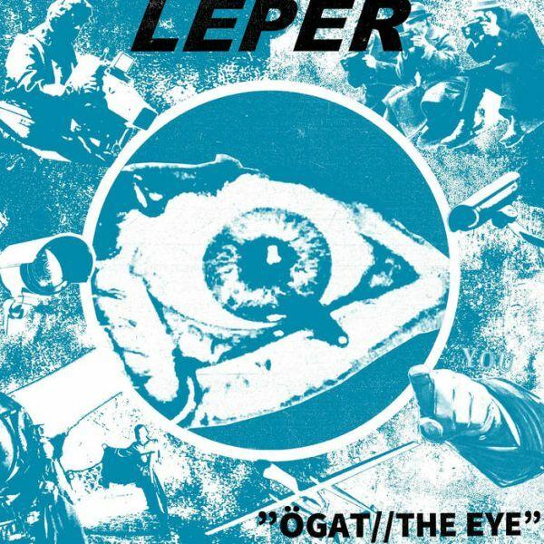 LEPER, ögat / the eye cover