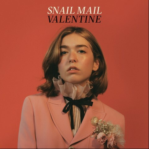 SNAIL MAIL, valentine (gold-white webstore version) cover
