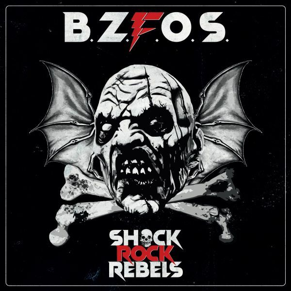 BLOODSUCKING ZOMBIES FROM OUTER SPACE, shock rock rebels cover