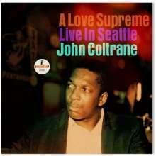JOHN COLTRANE, a love supreme - live in seattle cover
