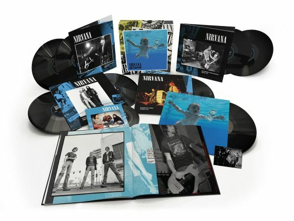 NIRVANA, nevermind - 30th anniversary edition cover