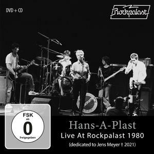 HANS-A-PLAST, live at rockpalast 1980 cover