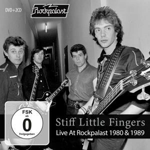 STIFF LITTLE FINGERS, live at rockpalast 1980 & 1989 cover