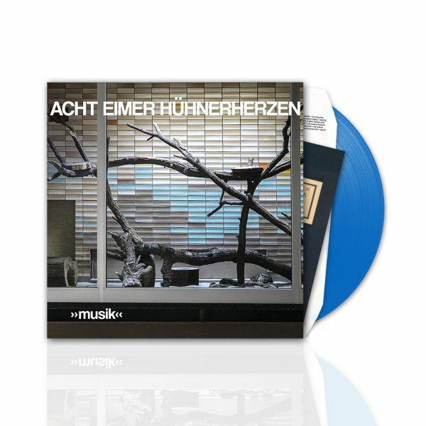ACHT EIMER HÜHNERHERZEN, musik (special family ed. - graues vinyl) cover