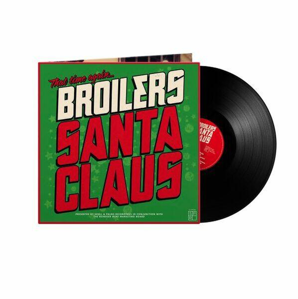 BROILERS, santa claus cover