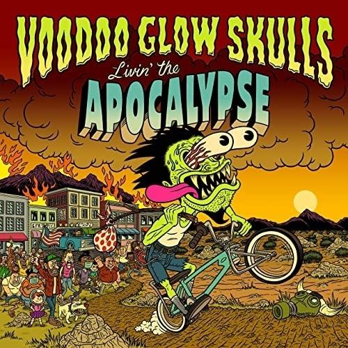VOODOO GLOW SKULLS, livin´ the apocalypse cover