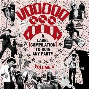 V/A, voodoo rhythm compilation vol. 5 cover