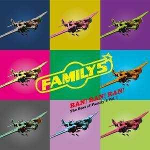FAMILY 5, ran! ran! ran! - best of family*5 vol. 01 cover