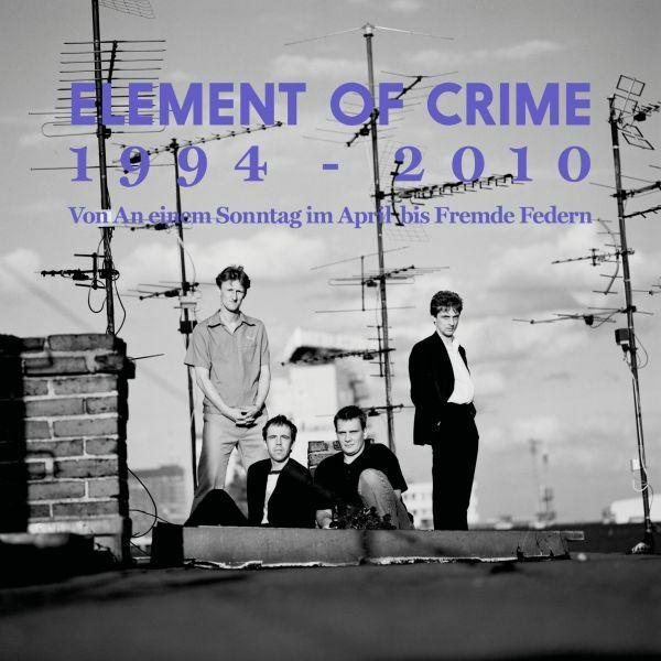 ELEMENT OF CRIME, 1994-2010 vinylbox cover