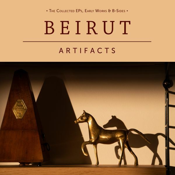 BEIRUT, artfacts cover