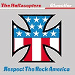Cover GLUECIFER / HELLACOPTERS, respect the rock america