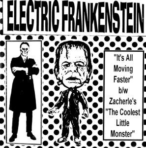 ELECTRIC FRANKENSTEIN, it´s moving cover
