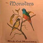 MONSTERS, birds eat martians cover