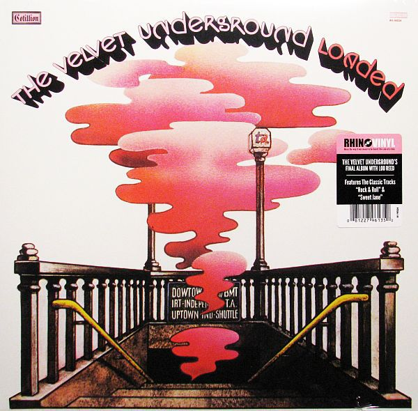 VELVET UNDERGROUND, loaded cover