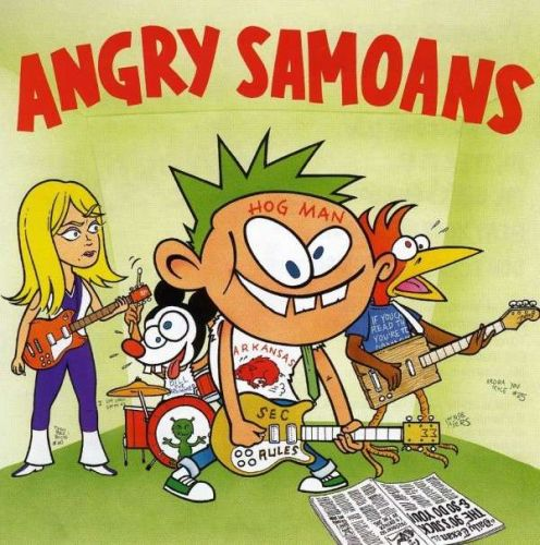 Cover ANGRY SAMOANS, 90´s suck ...