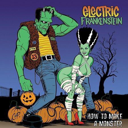 ELECTRIC FRANKENSTEIN, how to make a monster cover