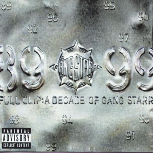 Cover GANG STARR, full clip: decade ...