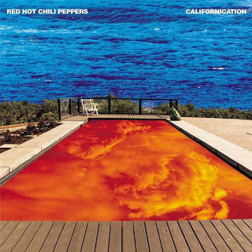 Cover RED HOT CHILI PEPPERS, californication