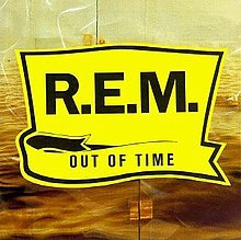 R.E.M., out of time cover