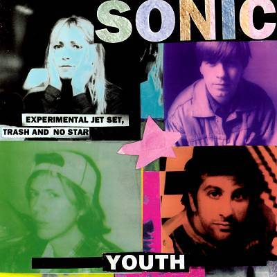Cover SONIC YOUTH, experimental jet set