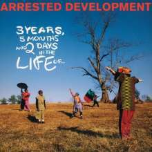Cover ARRESTED DEVELOPMENT, 3 years, 5 months