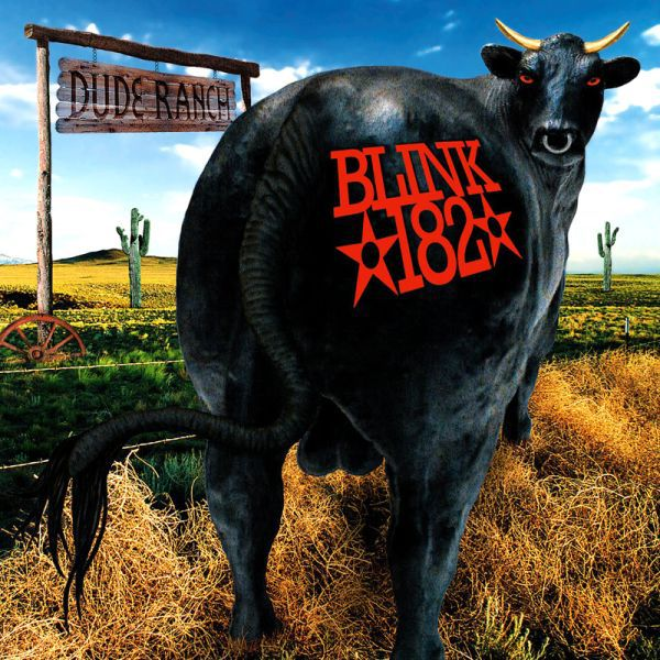 BLINK 182, dude ranch cover