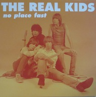 REAL KIDS, no place fast cover