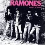Cover RAMONES, rocket to russia