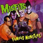MISFITS, famous monsters cover