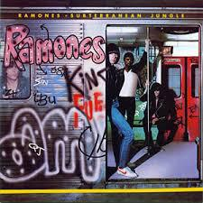 Cover RAMONES, subterranean jungle