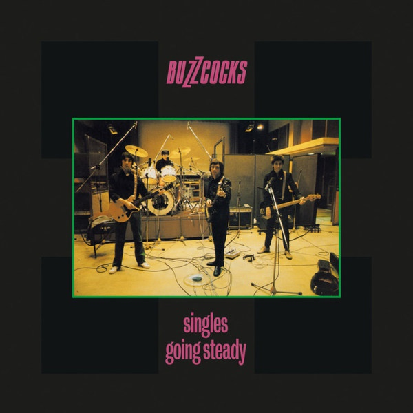 BUZZCOCKS, singles going steady cover