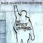 Cover RAGE AGAINST T. MACHINE, battle of l.a.