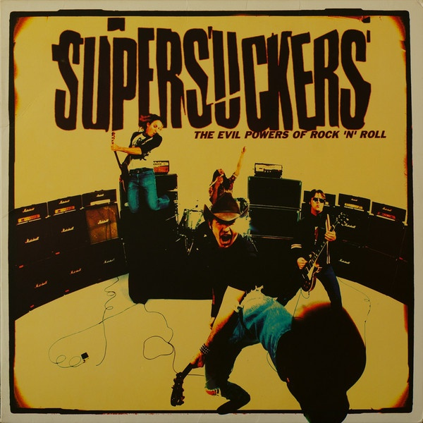 SUPERSUCKERS, evil powers of rock ´n´ roll cover