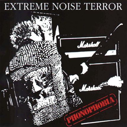 Cover EXTREME NOISE TERROR, phonophobia