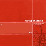 TURING MACHINE, a new machine for the living cover