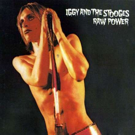 Cover IGGY & THE STOOGES, raw power