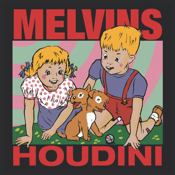 Cover MELVINS, houdini
