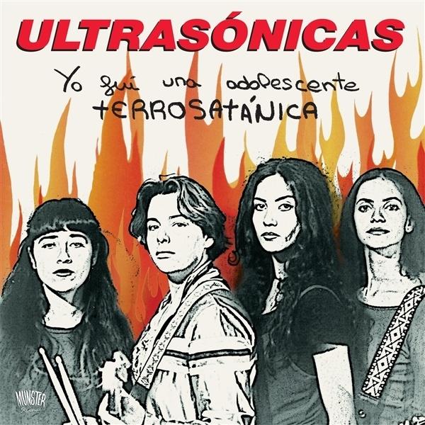 ULTRASONICAS, yo fui una adolescente terrosatanica cover