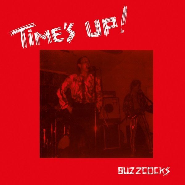 Cover BUZZCOCKS, time´s up