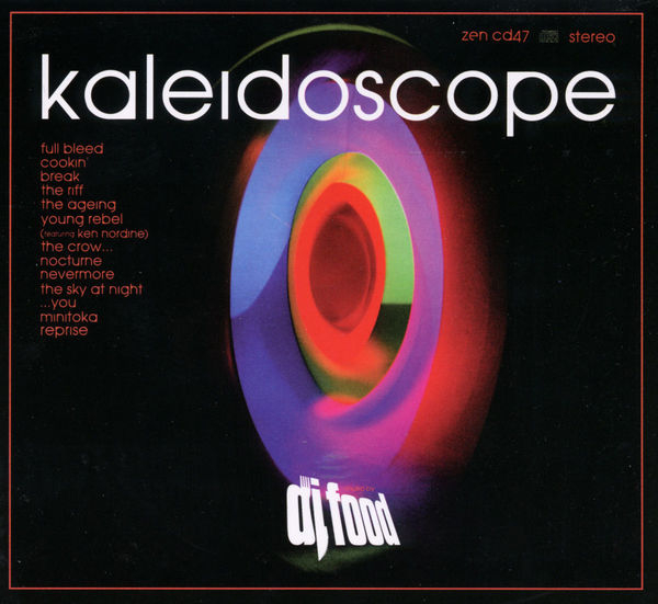 DJ FOOD, kaleidoskope cover