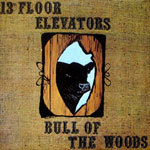 Cover 13TH FLOOR ELEVATOR, bull of the woods