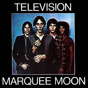 Cover TELEVISION, marquee moon